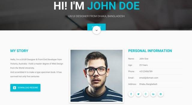 راه اندازی وبسایت شخصی