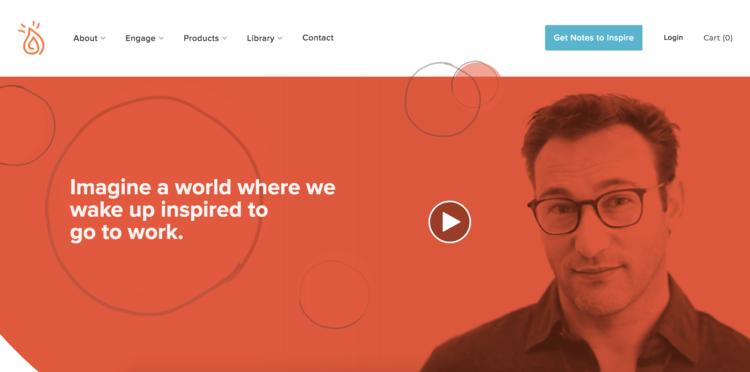 بهترین سایت های شخصی دنیا - سایمون سینک